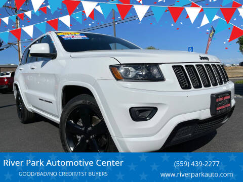 2015 Jeep Grand Cherokee for sale at River Park Automotive Center in Fresno CA