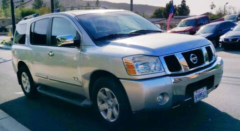 2006 Nissan Armada for sale at Apollo Auto El Monte in El Monte CA