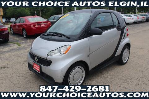 2013 Smart fortwo for sale at Your Choice Autos - Elgin in Elgin IL