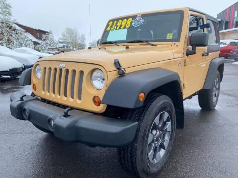 2013 Jeep Wrangler for sale at Snyder Motors Inc in Bozeman MT