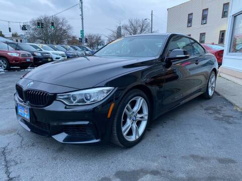 2015 BMW 4 Series for sale at ADAM AUTO AGENCY in Rensselaer NY