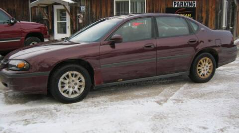 2004 Chevrolet Impala for sale at Spear Auto Sales in Wadena MN
