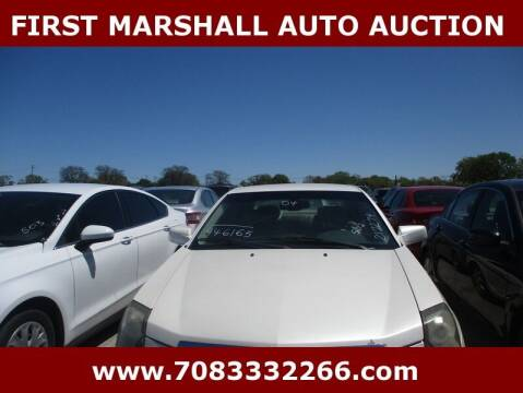 2004 Cadillac CTS for sale at First Marshall Auto Auction in Harvey IL