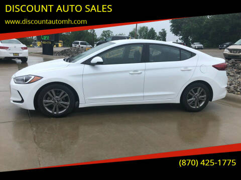 2018 Hyundai Elantra for sale at DISCOUNT AUTO SALES in Mountain Home AR