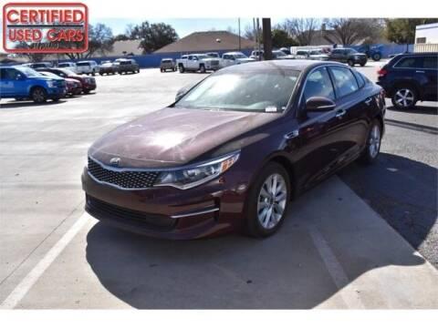 2018 Kia Optima for sale at South Plains Autoplex by RANDY BUCHANAN in Lubbock TX