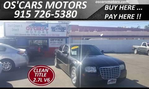 2007 Chrysler 300 for sale at Os'Cars Motors in El Paso TX