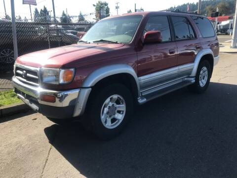 1997 Toyota 4Runner for sale at Chuck Wise Motors in Portland OR