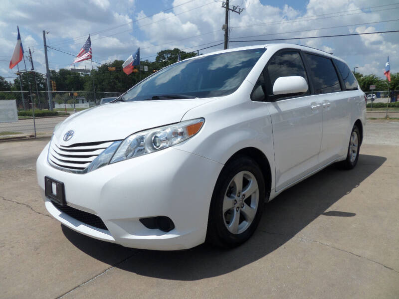 2015 Toyota Sienna for sale at West End Motors Inc in Houston TX