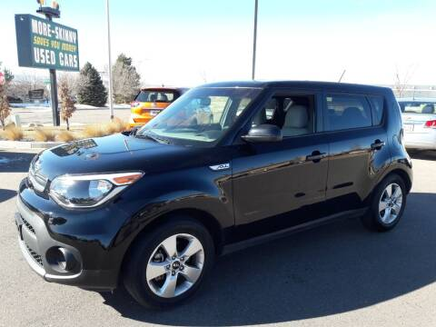 2018 Kia Soul for sale at More-Skinny Used Cars in Pueblo CO