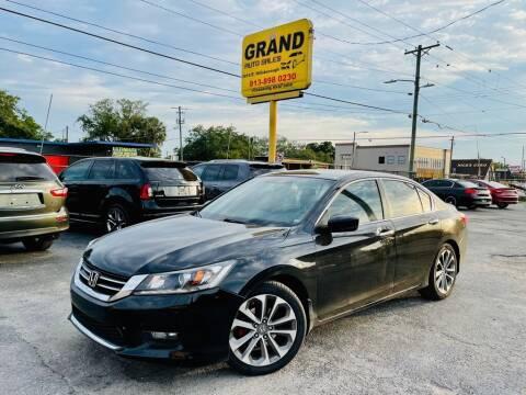 2015 Honda Accord for sale at Grand Auto Sales in Tampa FL