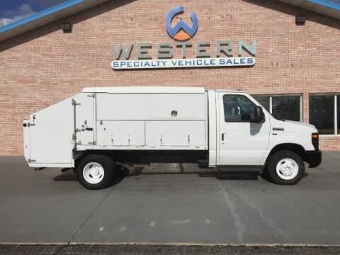 2012 Ford E350 Landscape Van for sale at Western Specialty Vehicle Sales in Braidwood IL