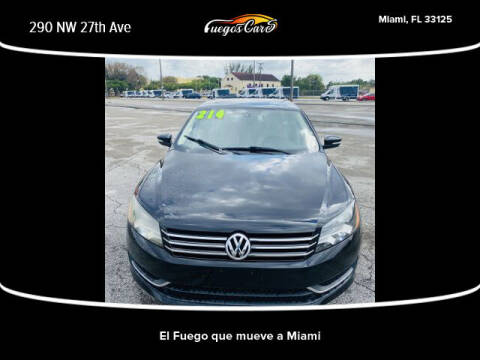 2014 Volkswagen Jetta for sale at Fuego's Cars in Miami FL