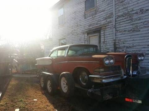 1958 Ford Edsel for sale at Haggle Me Classics in Hobart IN