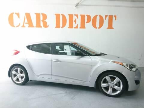 2015 Hyundai Veloster for sale at Car Depot in Miramar FL