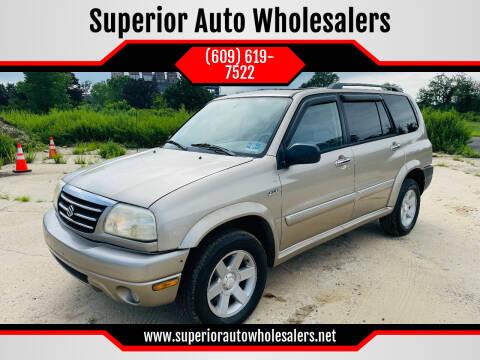 2002 Suzuki XL7 for sale at Superior Auto Wholesalers in Burlington NJ