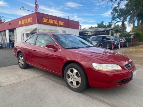 2000 Honda Accord for sale at 3K Auto in Escondido CA