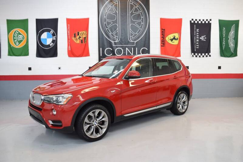 2017 BMW X3 for sale at Iconic Auto Exchange in Concord NC
