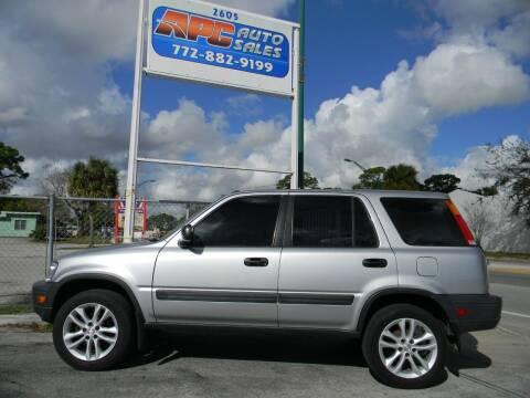 2001 Honda CR-V for sale at APC Auto Sales in Fort Pierce FL
