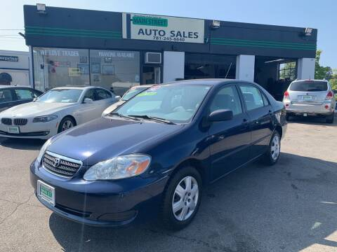 2005 Toyota Corolla for sale at Wakefield Auto Sales of Main Street Inc. in Wakefield MA