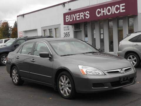 2007 Honda Accord for sale at Buyers Choice Auto Sales in Bedford OH