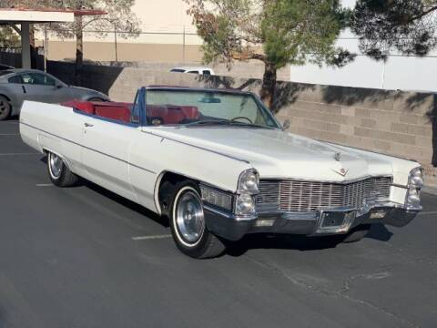 1965 Cadillac DeVille for sale at Classic Car Deals in Cadillac MI