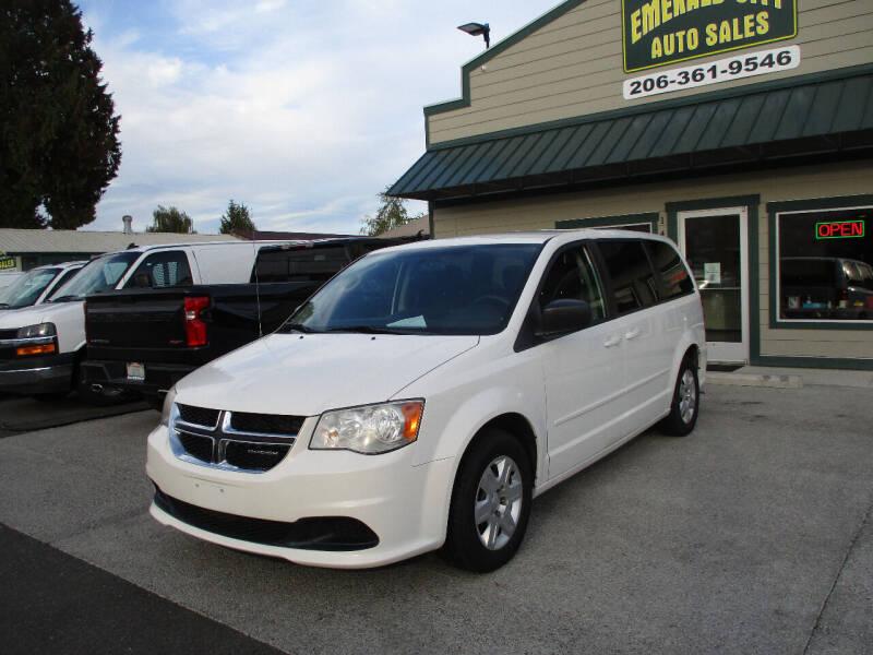 2011 Dodge Grand Caravan for sale at Emerald City Auto Inc in Seattle WA