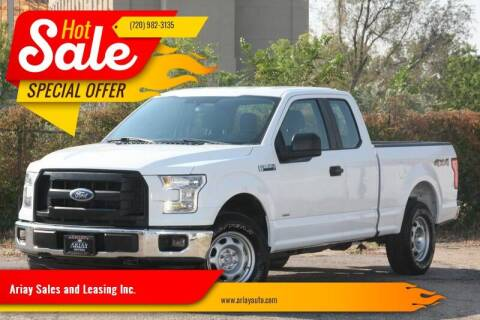 2017 Ford F-150 for sale at Ariay Sales and Leasing Inc. - Pre Owned Storage Lot in Glendale CO