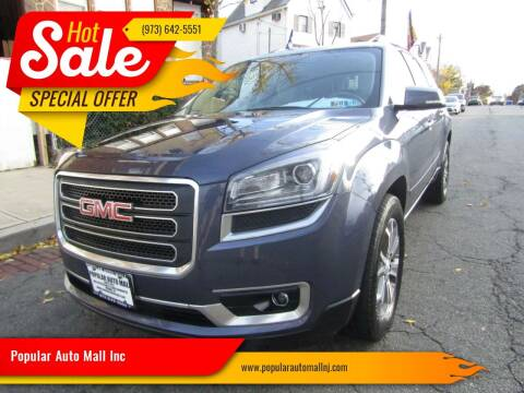 2013 GMC Acadia for sale at Popular Auto Mall Inc in Newark NJ