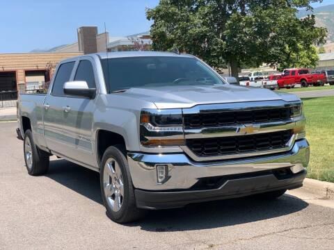 2018 Chevrolet Silverado 1500 for sale at A.I. Monroe Auto Sales in Bountiful UT