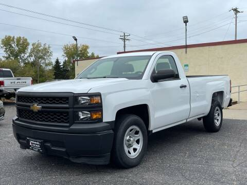 2014 Chevrolet Silverado 1500 for sale at North Imports LLC in Burnsville MN