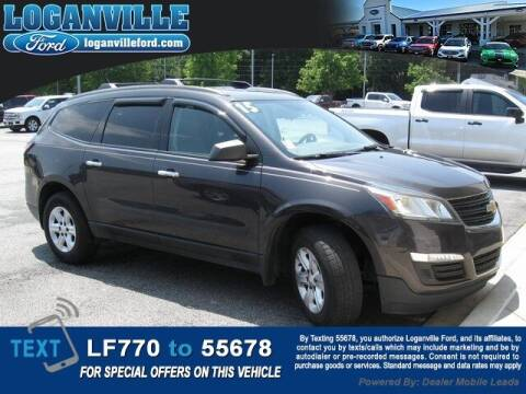 2015 Chevrolet Traverse for sale at Loganville Quick Lane and Tire Center in Loganville GA