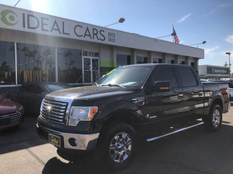 2012 Ford F-150 for sale at Ideal Cars Broadway in Mesa AZ