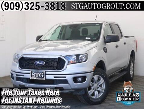 2019 Ford Ranger for sale at STG Auto Group in Montclair CA