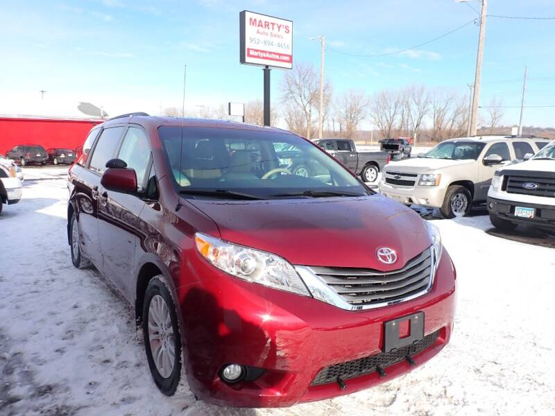 2013 Toyota Sienna for sale at Marty's Auto Sales in Savage MN