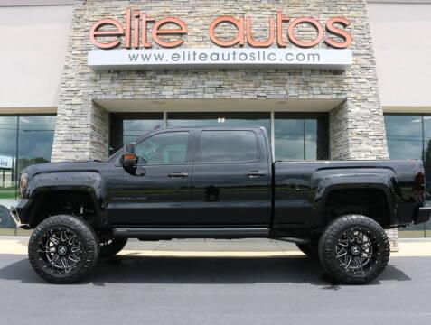 2017 GMC Sierra 2500HD for sale at Elite Autos LLC in Jonesboro AR