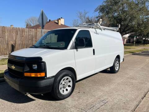 2012 Chevrolet Express Cargo for sale at Demetry Automotive in Houston TX