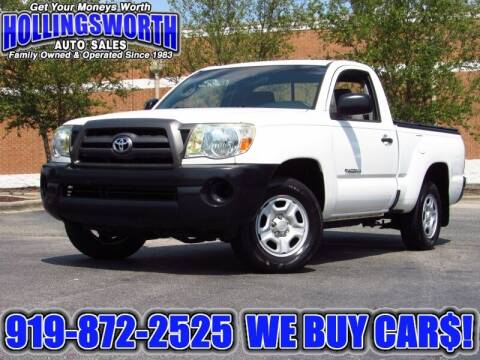 2009 Toyota Tacoma for sale at Hollingsworth Auto Sales in Raleigh NC