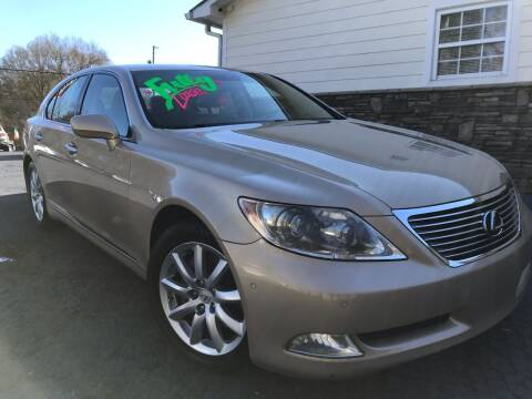 2007 Lexus LS 460 for sale at No Full Coverage Auto Sales in Austell GA