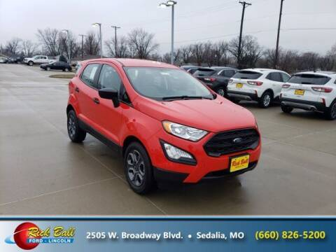 2021 Ford EcoSport for sale at RICK BALL FORD in Sedalia MO