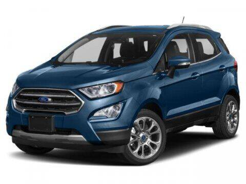 2018 Ford EcoSport for sale at Hawk Ford of St. Charles in St Charles IL