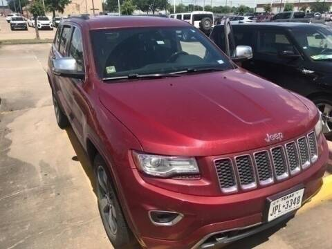 2014 Jeep Grand Cherokee for sale at FREDY KIA USED CARS in Houston TX