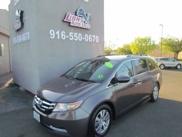 2015 Honda Odyssey for sale at LIONS AUTO SALES in Sacramento CA
