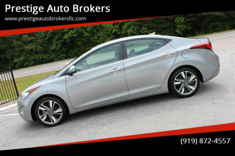 2014 Hyundai Elantra for sale at Prestige Auto Brokers in Raleigh NC