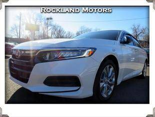 2018 Honda Accord for sale at Rockland Automall - Rockland Motors in West Nyack NY