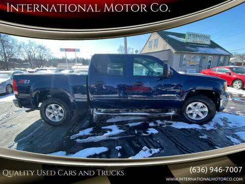 2011 GMC Sierra 1500 for sale at International Motor Co. in St. Charles MO