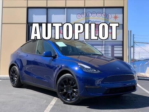 2021 Tesla Model Y for sale at Las Vegas Auto Sports in Las Vegas NV