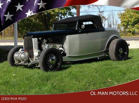 1932 Ford Roadster for sale at Ol Man Motors LLC in Louisville OH