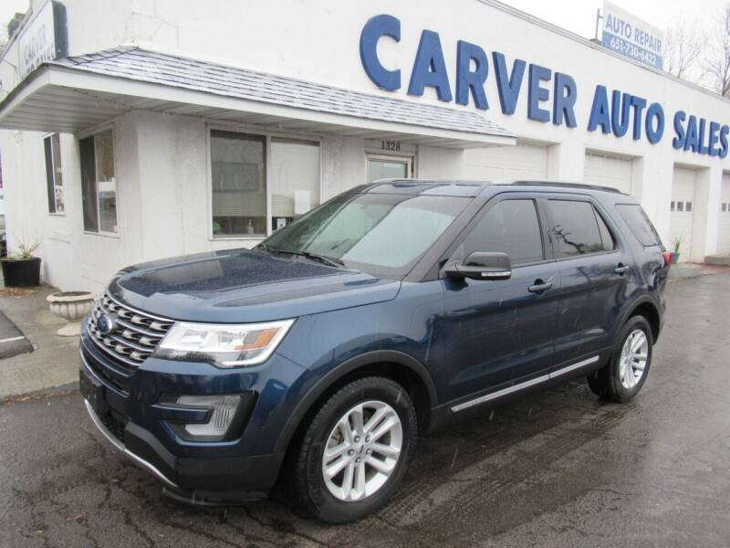 2017 Ford Explorer for sale at Carver Auto Sales in Saint Paul MN