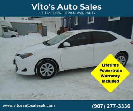 2017 Toyota Corolla for sale at Vito's Auto Sales in Anchorage AK