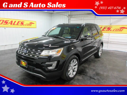 2016 Ford Explorer for sale at G and S Auto Sales in Ardmore TN